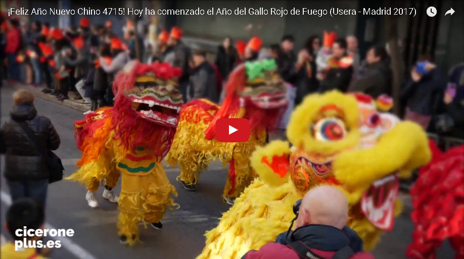 Año Nuevo Chino Madrid 2017