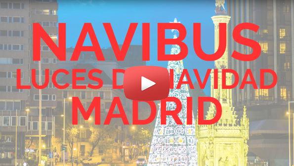 Bus de la Navidad Madrid 2015 - 2016