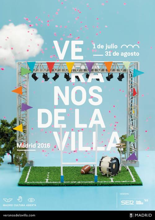 Cartel Veranos de la Villa 2016