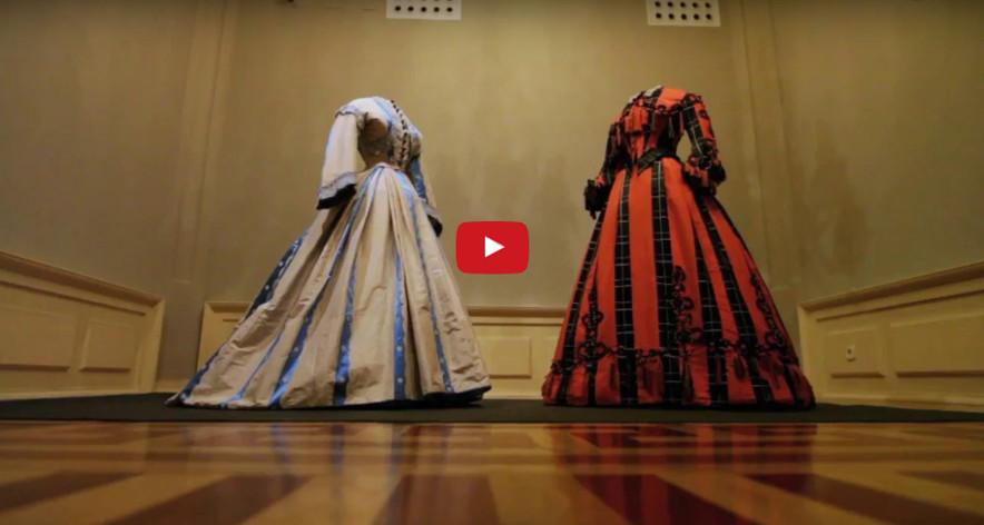 Exposición 'La moda romántica' en el Museo del Romanticismo