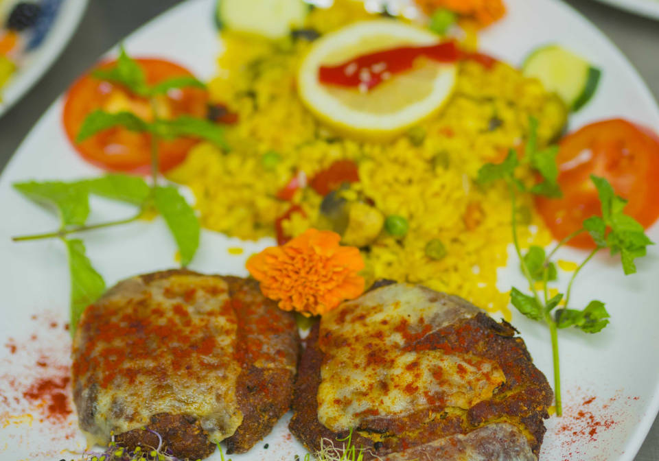 Hamburguesas vegetarianas sin gluten en Madrid | Restaurantes Vegetarianos Artemisa