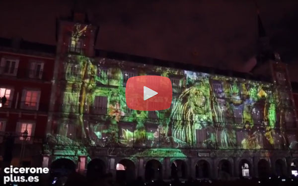 Video Mapping Madrid en Navidad 2016 - 2017