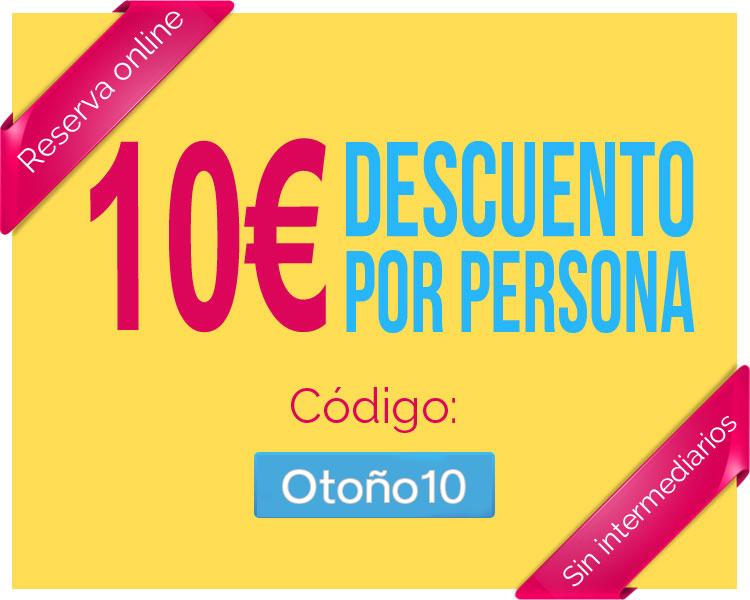 Imagen Segway Madrid: descuento 10 € Otoño 2017