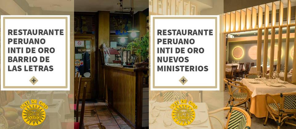 Restaurante Peruanos en Madrid | Inti de Oro