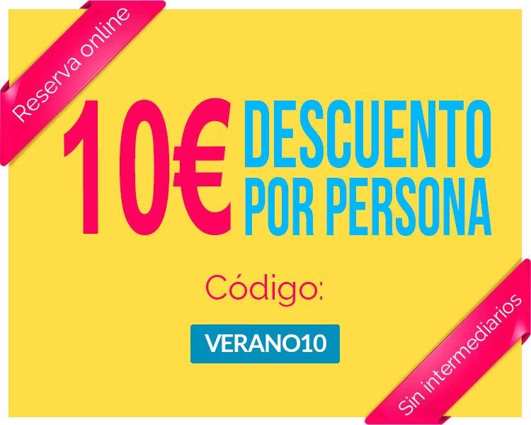 Banner Segway Madrid: descuento 10 € Verano 2017