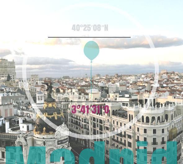 Vista desde la Terraza del Círculo de Bellas Artes de Madrid
