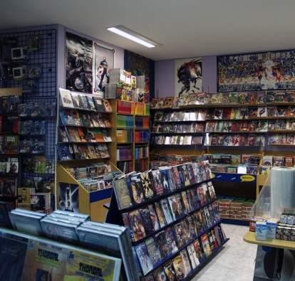 Tienda Librería Crisis Cómics