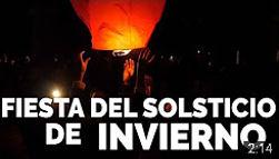 Fiesta del Solsticio de Invierno 2016 en Madrid Río (Fiesta de La Luz)