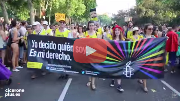 Video Orgullo Gay Madrid 2015