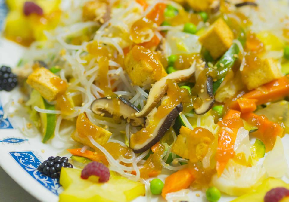 Wok sin gluten vegetariano Madrid | Restaurantes Vegetarianos libres de gluten Artemisa